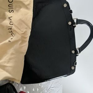 Black Louis Vuitton Purse